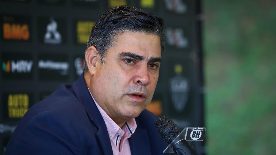 Sérgio Sette Câmara, presidente do Atlético-MG, detona o Estadual do Rio de Janeiro - Pedro Souza / Divulgação / Atlético-MG