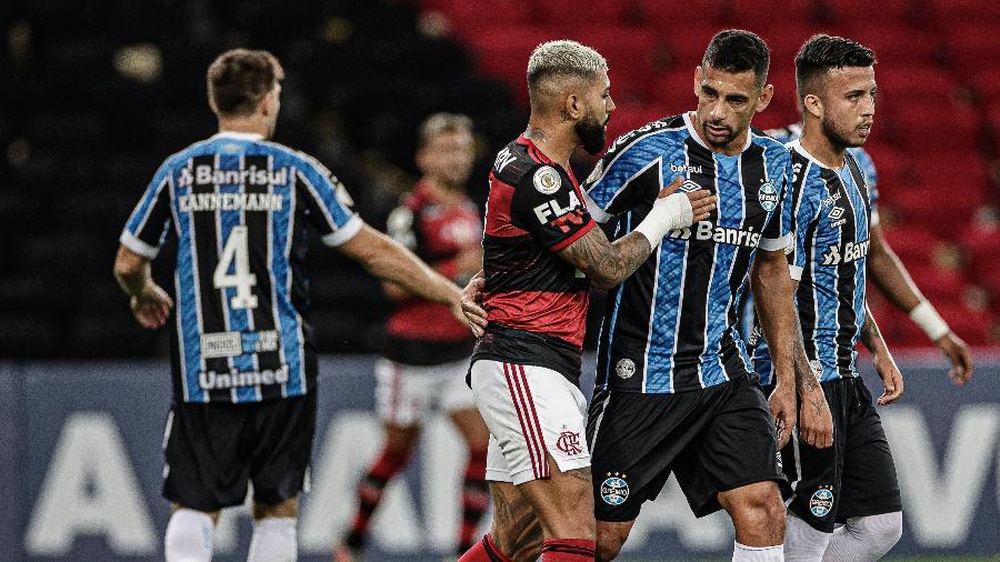 Grêmio e Flamengo jogam hoje na Arena do Grêmio, em Porto Alegre - Pedro Martins/Foto FC/UOL