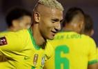 Até 2021! Brasil resolve no primeiro tempo, vence o Uruguai e segue 100% - Raúl Martínez-Pool/Getty Images