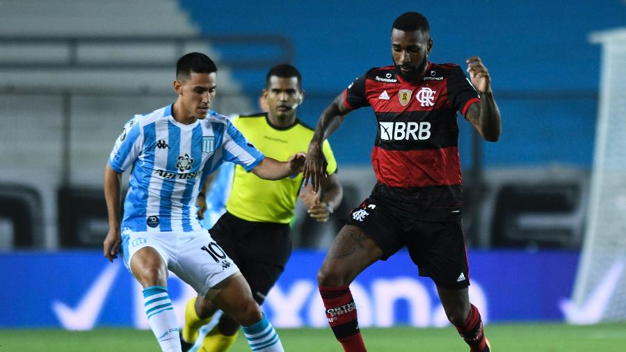 Lamce do duelo entre Racing e Flamengo pela Libertadores - Divulgação/Conmebol