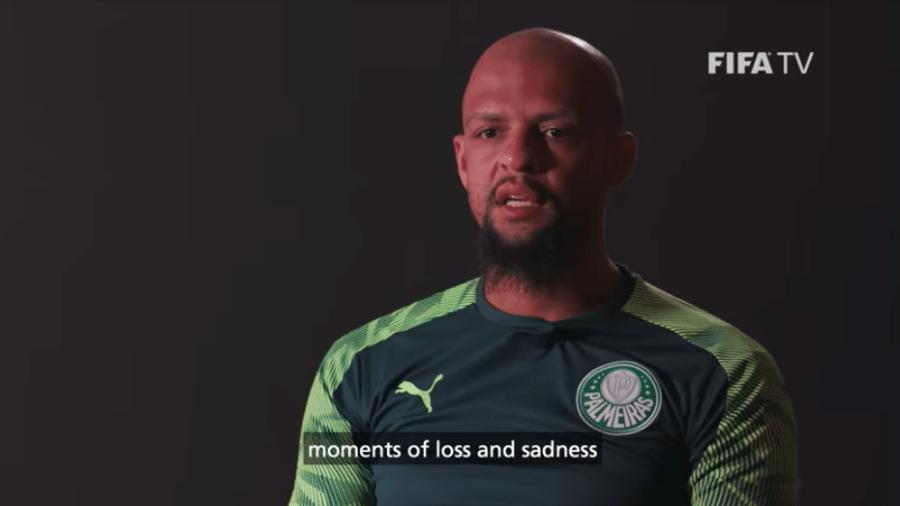 Felipe Melo desabafa sobre derrota no Mundial em vídeo de bastidores da Fifa - Transmissão FIFA