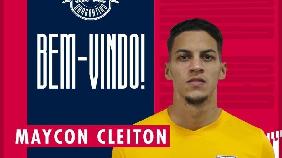 Rb Bragantino anuncia contratação do goleiro Meycon Cleiton até 2025 - Reprodução/Twitter/RB Bragantino