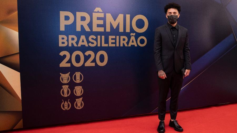 Claudinho no Prêmio Craque do Brasileirão 2020 - Thaís Magalhães / CBF