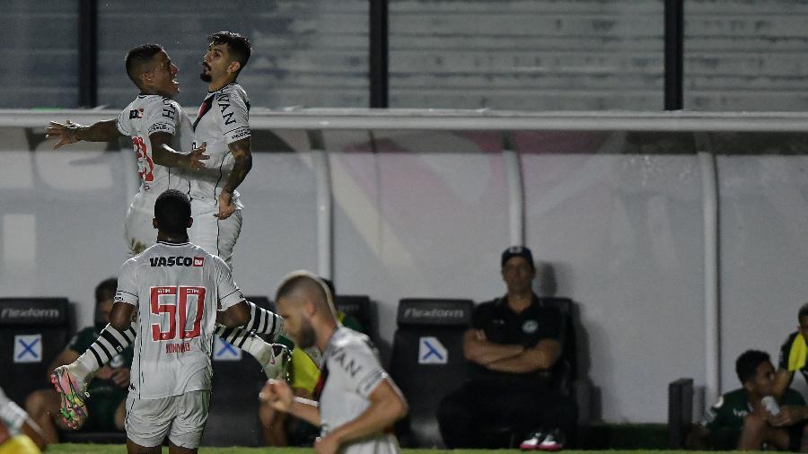 Ricardo Graça comemora gol pelo Vasco - Thiago Ribeiro/Thiago Ribeiro/AGIF