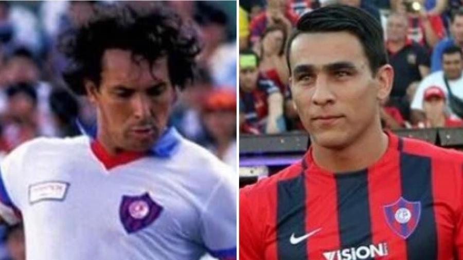 Éder Aleixo teve rápida passagem pelo Cerro quando tinha 31 anos de idade; Junior Alonso foi revelado pela equipe paraguaia em 2013 - Arquivo Pessoal