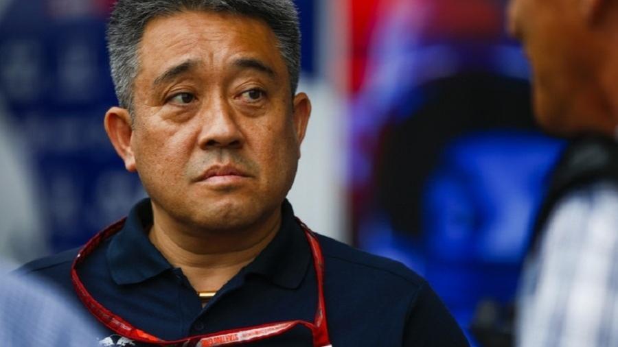 O engenheiro japonês Masashi Yamamoto, chefe do projeto da Honda na F-1 - Reprodução
