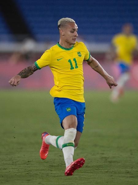 Antony tem contrato com o Ajax até junho de 2025 - Lucas Figueiredo/CBF