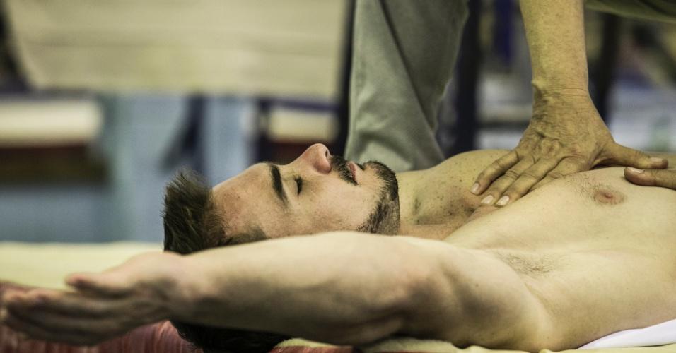 Especial Arthur Zanetti: alongamento e fisioterapia 1
