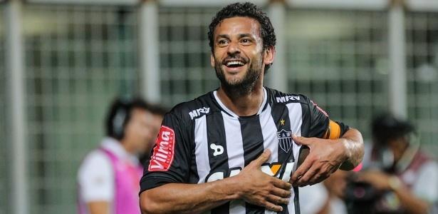 Desde junho, o 'coração' de Fred agora é jogado para a torcida do Atlético-MG