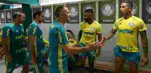 Eduardo Baptista deu chance a Lucas Barrios entre os titulares - Cesar Greco/Ag. Palmeiras