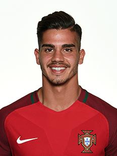 André Silva, atacante de Portugal