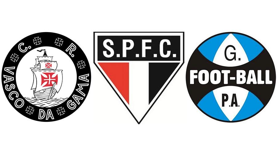 c19bb556ef922 Você sabe reconhecer os escudos antigos dos clubes brasileiros  - 03 ...