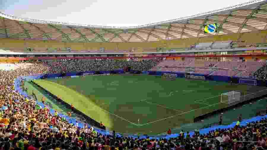 Arena da Amazônia, que foi palco da Copa do Mundo, receberá o clássico Vasco x Corinthians dia 4 de maio - Pedro Martins/ MoWa Press