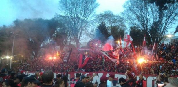 Torcida atleticana se reunirá por festa fora da Arena, em protesto
