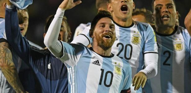 Messi comanda a festa da Argentina após vitória sobre o Equador