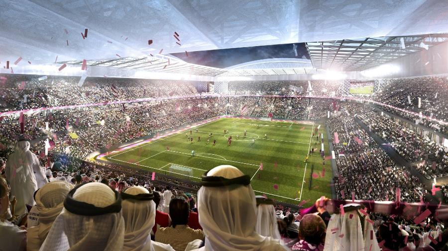 Ilustração oficial de estádio da Copa do Mundo de 2022 - Getty Images