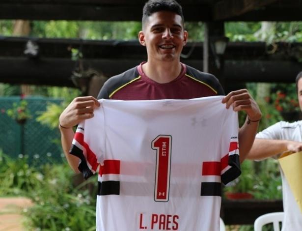 Lucas Paes assinou contrato e já teve o nome publicado no BID da CBF