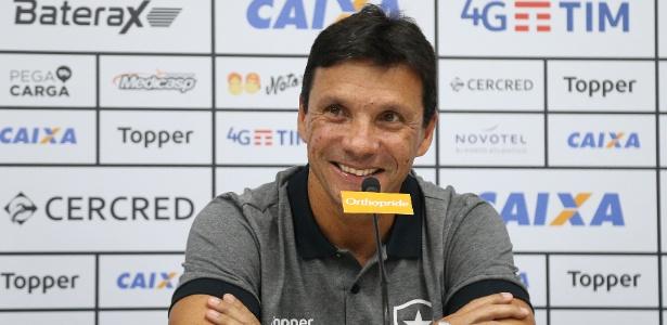 Novo comandante! Zé Ricardo faz sua estreia pelo Botafogo diante do Paraná