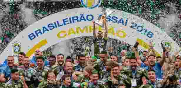 Atual campeão, Palmeiras é um dos times que não fechou com Globo - Alê Cabral/Agif
