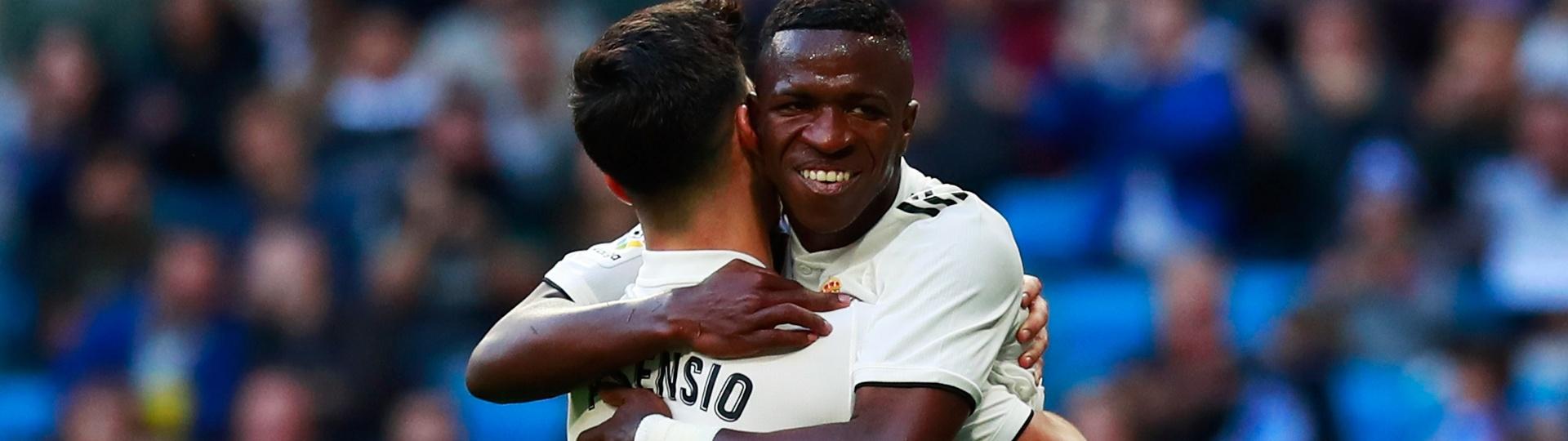 Vinicius Junior Asensio Real Madrid Melilla Copa do Rei