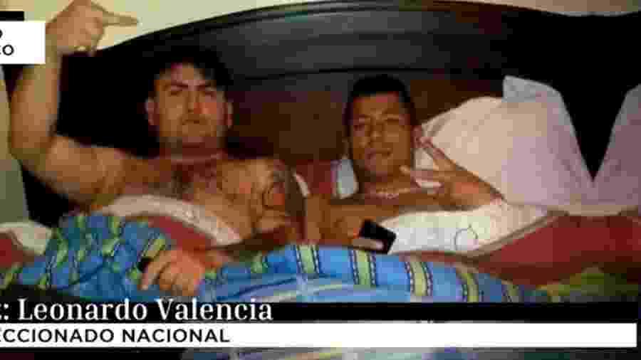 """Valência (d) tem ligação com integrantes de facção criminosa de Santiago: """"Amigos locais"""", diz ele -"""