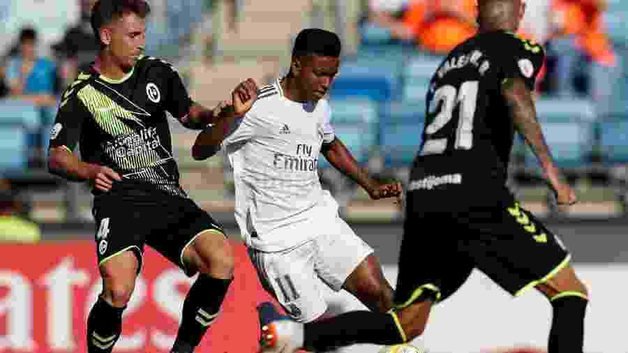Semana de Rodrygo teve gols pelos times principal e B do Real Madrid - Divulgação/Real Madrid