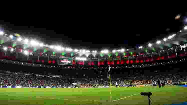 Torcida do Fluminense compareceu ao Maracanã para o jogo contra o Fortaleza, pelo Campeonato Brasileiro - FOTO DE MAILSON SANTANA/FLUMINENSE FC - FOTO DE MAILSON SANTANA/FLUMINENSE FC