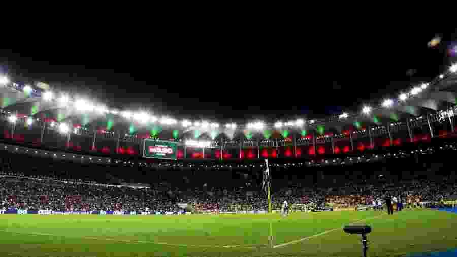 Torcida do Fluminense no Maracanã para jogo contra o Fortaleza - Mailson Santana/Fluminense FC