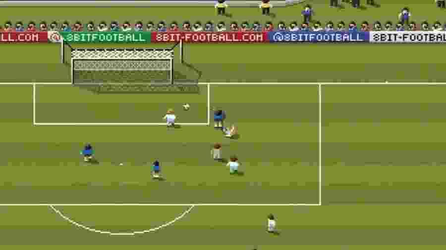 Animação de gol foi publicada nas redes sociais - Reprodução/Twitter