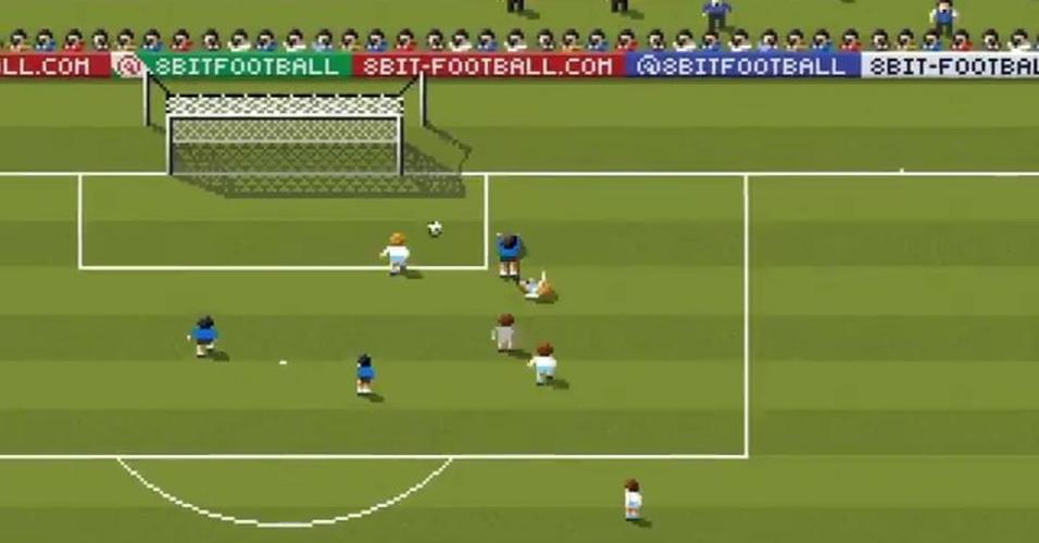 Animação de gol foi publicada nas redes sociais
