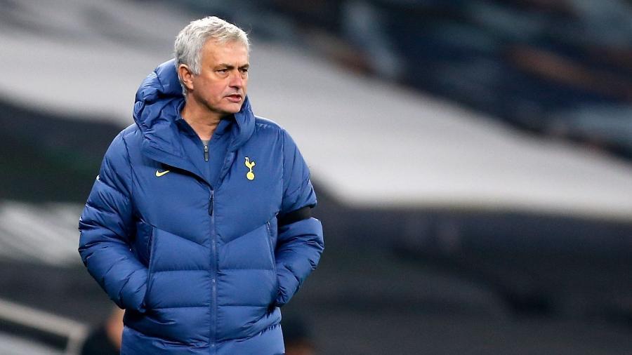 José Mourinho pode não seguir no Tottenham para a próxima temporada - Ian KINGTON / POOL / AFP