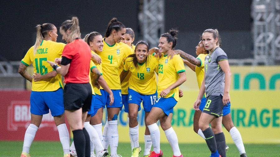Seleção brasileira feminina - Lucas Figueiredo/CBF