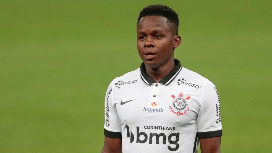 Cazares em ação durante Corinthians x Sport, jogo pelo Brasileirão 2020 - Marcello Zambrana/AGIF