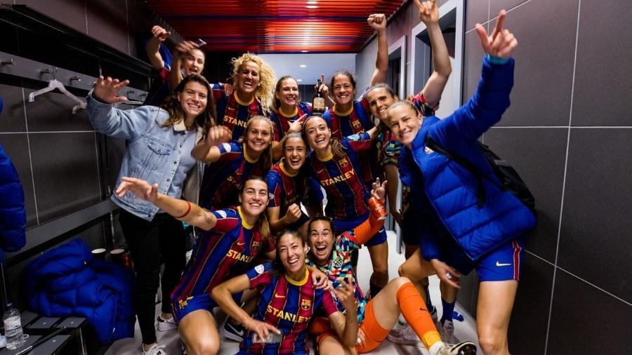 Barcelona vence o Paris Saint-Germain e está na final da Liga dos Campeões Feminina - Twitter