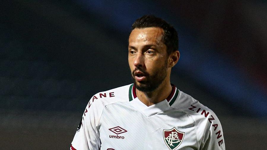 Nenê, de 40 anos, está próximo de rescindir seu contrato com o Fluminense e acertar retorno ao Vasco da Gama - LUCAS MERÇON / FLUMINENSE F.C.
