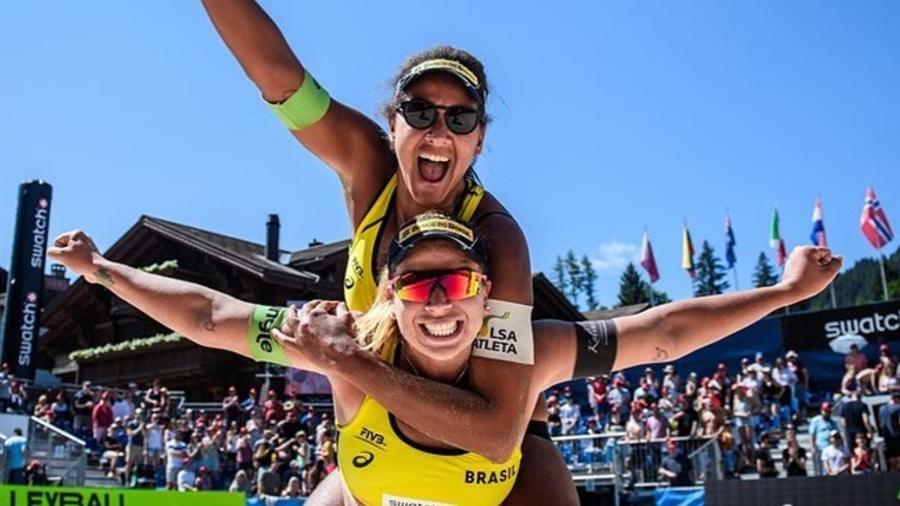 Ana Patrícia e Rebecca, dupla brasileira do vôlei de praia que disputa a Tóquio-2020 - Reprodução/Instagram
