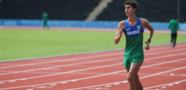 Caio Bonfim vai representar o Brasil em Toronto-2015 nos 20kms