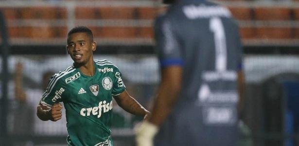 Gabriel Jesus começou a temporada 2016 como titular do Palmeiras