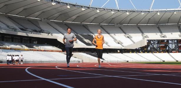 Olympic Stadium foi reformado para receber os jogos do West Ham