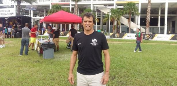 Milton Cruz assistiu à partida entre Brasil x Haiti em Orlando