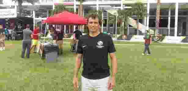 Milton Cruz assistiu à partida entre Brasil x Haiti em Orlando - Guilherme Palenzuela/UOL Esporte