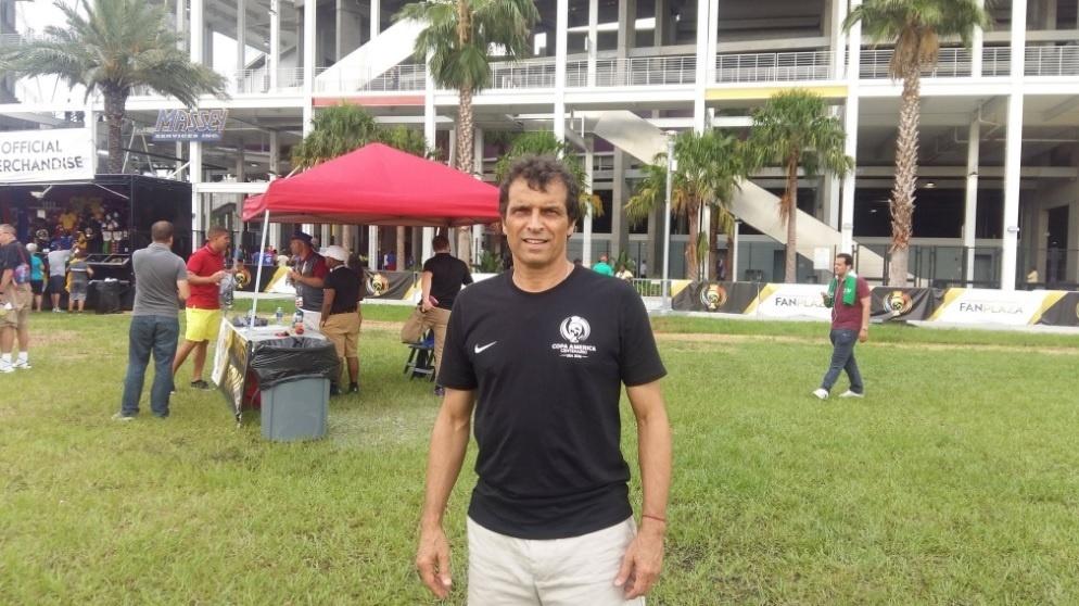 Milton Cruz assistirá à partida entre Brasil x Haiti em Orlando