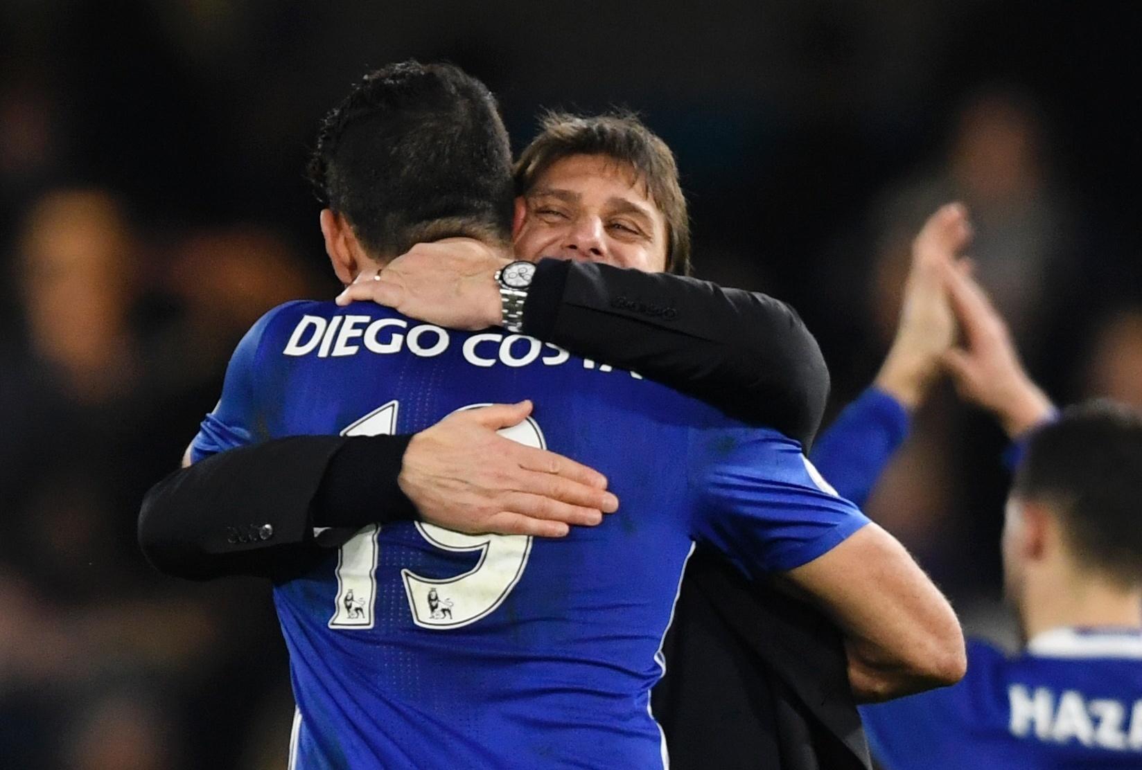 Conte diz que Diego Costa ama o Chelsea e confia em permanência -  10 02 2017 - UOL Esporte f2e5966a55a13