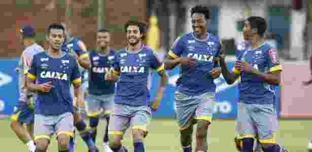 Jogos-treino ajudarão Mano a escolher qual será o time titular do Cruzeiro neste início de ano - Washington Alves/Light Press/Cruzeiro