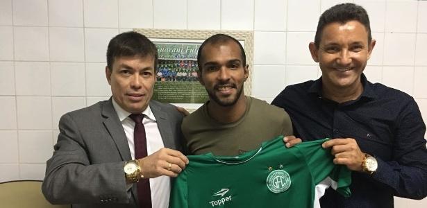 Richarlyson assinou contrato com o Guarani até o fim da Série B