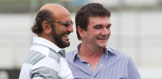 Rosenberg e Andrés participaram de discussão de patrocínio do Corinthians