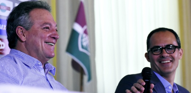 Abel Braga e Pedro Abad ainda vão conversar para definir permanência