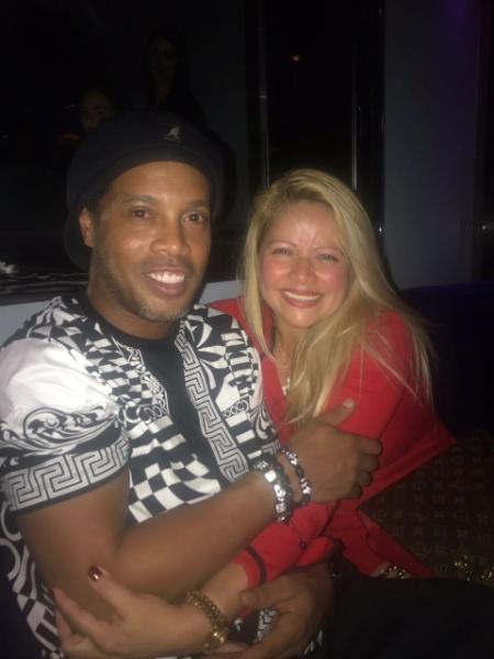 Sheila Soares reencontrou Ronaldinho 12 anos após abraço em Weggis - Arquivo pessoal