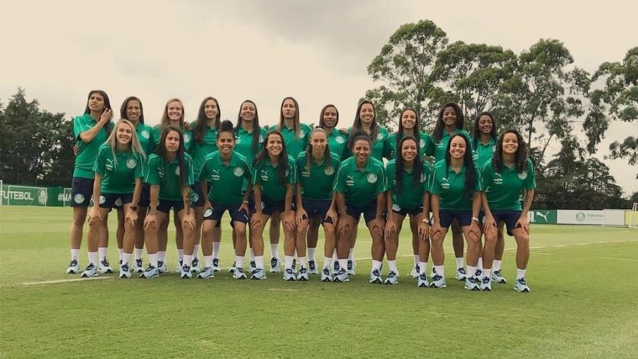 Palmeiras apresenta time de futebol feminino - Divulgação/Twitter
