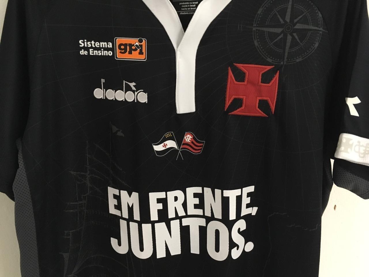Vasco usará bandeira do Fla na camisa em jogo contra o Resende 71a9c1ec29d76